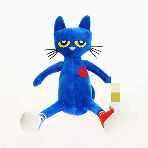 zcm Plüschtier 35 cm Pete Le Chat Jouets En Peluche Chat Bleu Poupées En Peluche