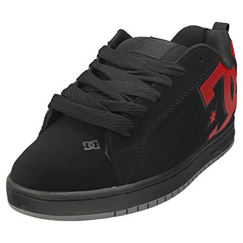 DC Shoes Court Graffik - Zapatillas de Cuero - Hombre - EU 43