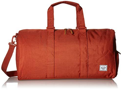 Herschel Novel Duffel Bag, Red Picante Crosshatch, Mid-Volume 33.0L