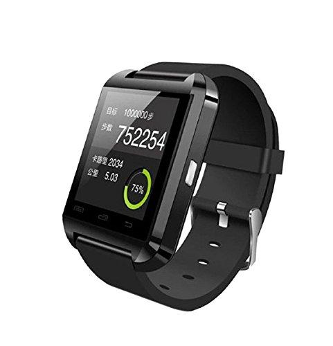 SAMGU New Digitaluhr Bluetooth Smart Uhren für iOS Android Unisex Armbanduhr schwarz