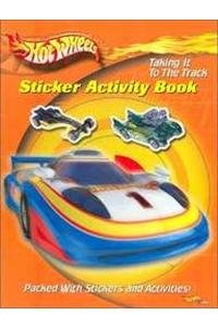 Hot Wheels Sticker Activity - Taking It to the Track
