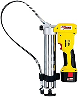Lumax LX-1176 Handyluber 12V Cordless Grease Gun with 2 Batteries, 7000 Psi