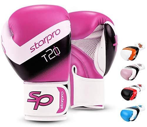 Starpro | T20 Boxhandschuhe Kinder für kleine & zarte Hände | Kinder Boxhandschuhe, Boxhandschuhe Kinder 6 Jahre, Boxhandschuhe Kinder 10 Jahre, Box Handschutz Kinder, Kinder Boxset, Kinder Box Set