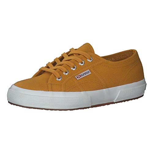Superga 2750 Cotu Classic, Zapatillas Unisex Adulto, Amarillo (Yellow Golden W8u), 35 EU