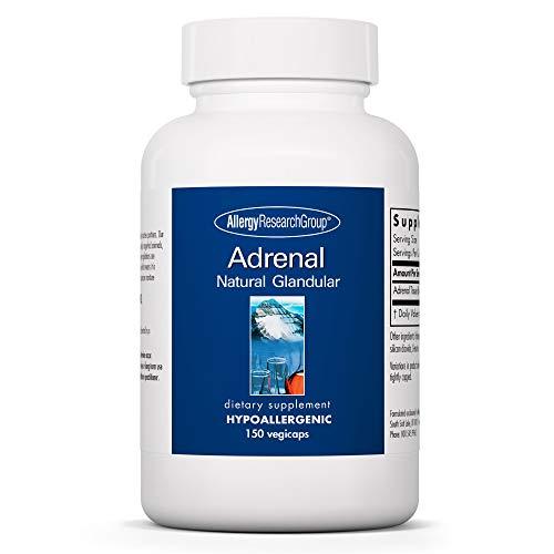 Allergy Research Group Adrenal Natural Glandular 100 mg 150 Kapseln