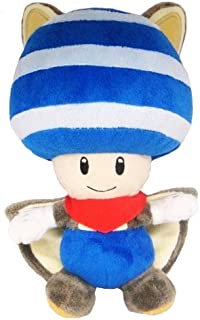 Little Buddy Toys Nintendo Flying Squirrel Toad 8 Plush, Blue