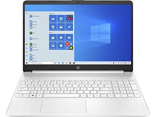 HP 15s-eq1026ns - Ordenador portátil de 15.6' HD (AMD Ryzen 3 3250U, 8 GB RAM, 512 GB SSD, AMD Radeon, sin Sistema operativo) Blanco - Teclado QWERTY Español