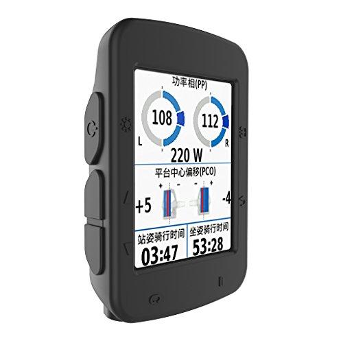 kdjsic Funda de Piel de Silicona Multicolor para computadora de Ciclismo Garmin Edge 520 GPS