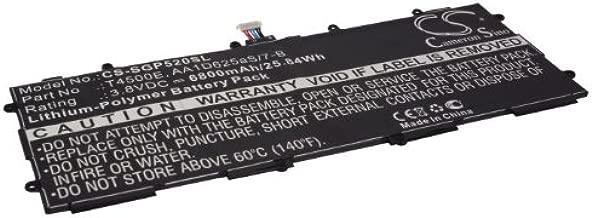 Replacement Battery for Samsung Galaxy Tab 3 10.1 GT-P5200 GT-P5210 GT-P5220 Part NO AA1D625aS/7-B T4500E Part NO ASC29087 EB-L1H2LLD EB-L1H2LLU EB-L1L7LLU SC07