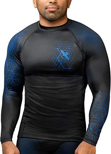 Hayabusa Geo Long Sleeve Jiu Jitsu Rashguard