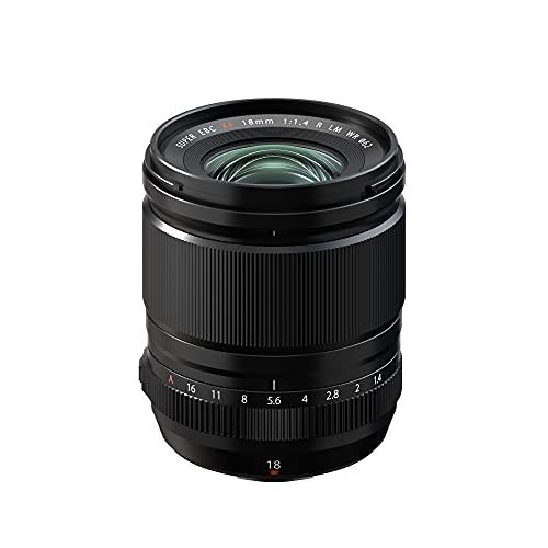 富士フイルム フジノンレンズ 単焦点レンズ XF18mmF1.4 R LM WR ブラック