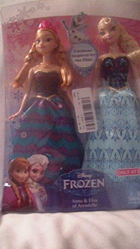 Disney Frozen Anna et Elsa 3poupée de mode 2-Pack 28cm Distribution limitée (USA importation)
