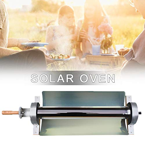 navigatee Parrilla De Barbacoa Portátil Cocina De Barbacoa Solar,Estufa Solar Portátil Horno Solar Portátil De Acero Inoxidable Paquete De Máquina De Ebullición De Sopa De Cocina Solar Multifuncional