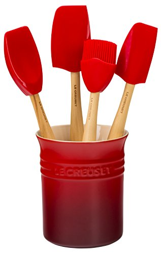 Le Creuset Craft Series Utensil Set with Crock, 5-Piece