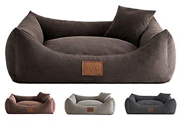 Leo4dog. Sofa SUN. 6 Größen, 4 Farben. Hundebett, Hundekissen, Hundesofa,Hundekorb. Sehr langlebig und kratzfest. Beschichtung: 88% Polyester, 12% Nylon Bezüge sind abnehmbar und waschbar. Waschen bei 30-40 Grad. Made in EU Größen: S-67 x 52 cm / M-8...