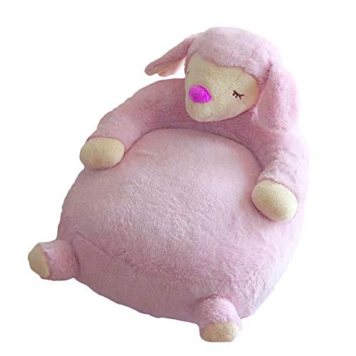 JYSPT Kinderstoel Kinderkamer Slaapbank Zitbank Kinderen Peuters Sofa Stoel alpaca-pink
