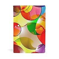 ブックカバー 文庫 a5 皮革 レザー 多色の泡 文庫本カバー ファイル 資料 収納入れ オフィス用品 読書 雑貨 プレゼント