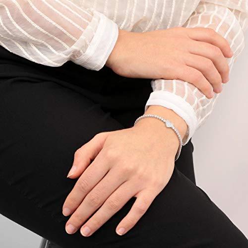 Morellato Bracciale da donna, Collezione Tesori, in argento 925‰ e zirconi - SAIW85