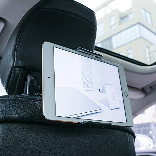 Supporto Auto Poggiatesta per Tablet, Lamicall Supporto Tablet - Universale Supporto per 5~11  Tablet come 2020 iPad Pro 9.7, 10.5, iPad Air mini 1 2 3 4, Samsung Tab, iPhone, altri Tablets - nero