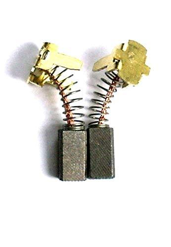 AGV 12-125 x 5 x 13 x 15 mm 4931435031 Balais de charbon pour meuleuse dangle MILWAUKEE AG 12-115 X