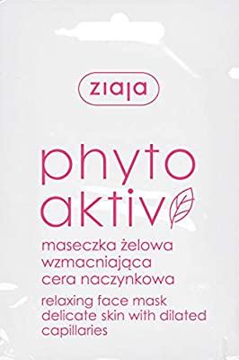Ziaja Phytoaktiv Strengthening Face Mask Vascular Skin 1x7ml by Ziaja