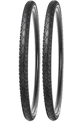 P4B | 2X 28 Zoll Fahrradreifen (42-622) | Komfortables Rollen | Sehr guter Grip | 28 x 1.60 | mit Reflexstreifen | TREKKINGREIFEN | Für Vorderrad + Hinterrad | Fahrradmantel