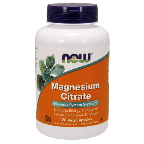 Now Foods Citrato de magnesio 400 mg 120 Unidades 190 g