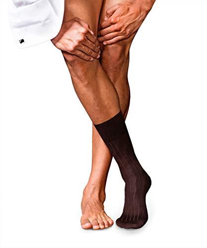 FALKE Herren No. 2 Finest Cashmere Socken, Brown, 43-44