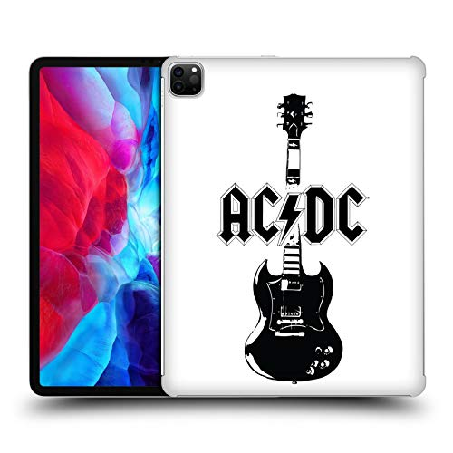 Official AC/DC ACDC Lead Guitar Iconic Hard Back Case Compatible for Apple iPad Pro 12.9 (2020)