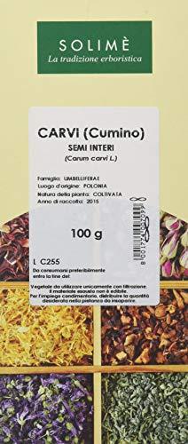 Carvi Semi Interi - 100 g - Prodotto made in Italy.
