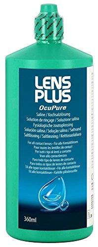 Lens Plus Purite Saline 360 ml Pack de 2
