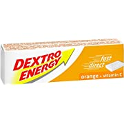 DEXTRO ENERGY - 24 packs -Orange Glucose tablets with Vitamin C, 47g