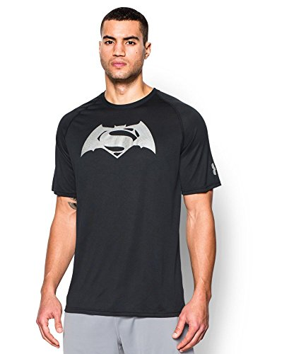 Under Armour Superman Vs Batman SS T - Camiseta de Manga Corta Hombre
