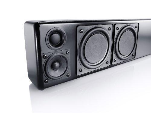 Canton DM 9 Inalámbrico 2.1channels 200W Negro Altavoz soundbar - Barra de Sonido (2.1 Channels, 200 W, Dolby Digital,DTS, 200 W, 3000 Hz, 2,54 cm (1