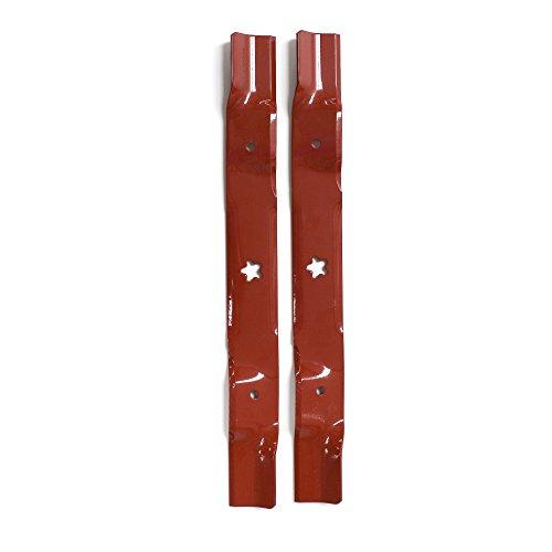 Husqvarna 954636867 42-Inch Lawn Mower Mulching 2 Blade Kit For LT18542, LTH18542, LTH2042 and YTH1542XP,Orange