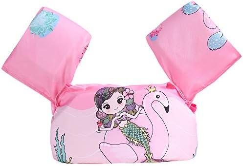 Puoyis Toddler Kids Swim Life Vest Girls and Boys Swim Vest Swimming Training Life Jacket Children product image