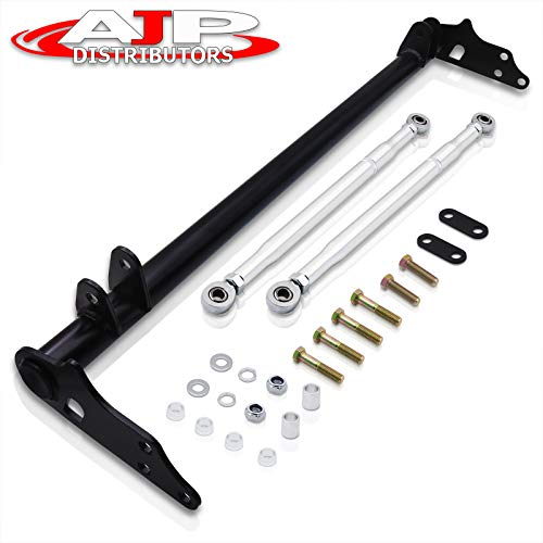 AJP Distributors Front Suspension Traction Control Lower Tie Bar Kit For 1988 1989 1990 1991 88 89 90 91 Honda Civic CRX