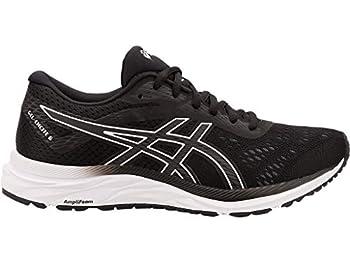 ASICS Women s Gel-Excite 6 Running Shoes 7.5W Black/White