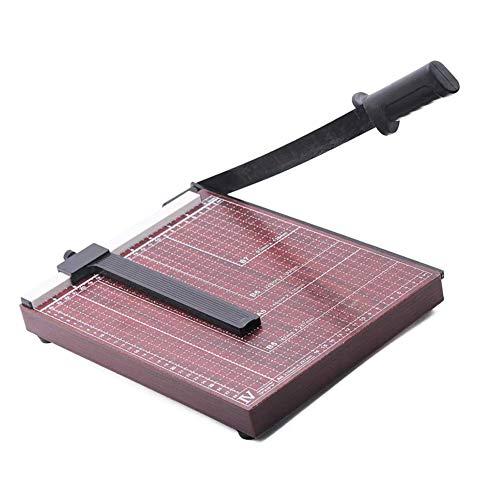 Paper Cutter A4 Guillotine Paper Cutter Paper Trimmer A4 Paper Trimmer-Can Trim Files,Photos, Improve Cutting Precision
