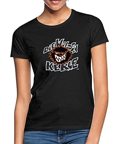 Spreadshirt Die Wilden Kerle Logo Wild Frauen T-Shirt, M, Schwarz