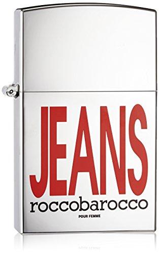 Roccobarocco Silver Jeans 75 ml Eau de Parfum Spray für Sie, 1er Pack (1 x 75 ml)
