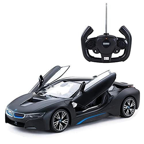 YLJYJ Vehículo de tracción en Las Cuatro Ruedas 2.4G Competición Deportiva electrónica Modelo 1:14 Control Remoto de Coche de Juguete Convertible transformable (Coche Inteligente)