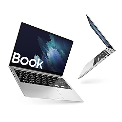Samsung Galaxy Book Laptop, Processore Intel Core i5 di undicesima generazione, 15,6 Pollici, Windows 10 Home, 8GB RAM, SSD 512GB, Colore Mystic Silver