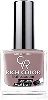 Rich Color Nail Lacquer By Golden Rose, Color Brown No5