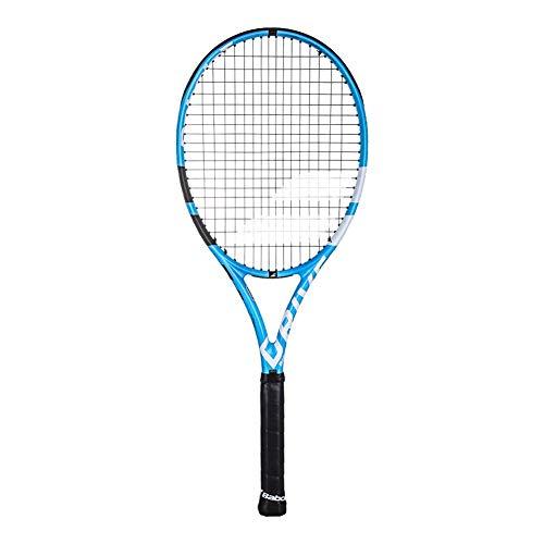 Babolat Pure Drive+ Incordata: No 300G Racchette Da Tennis Racchette Da Torneo Blu - Nero 3