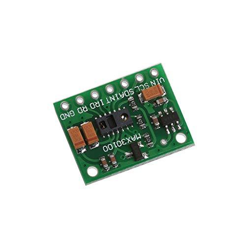 ICQUANZX MAX30100 Pulsoxymetrie-Sensormodul für die medizinische Überwachung von Arduino