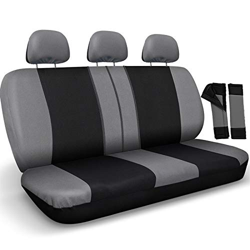Motorup America Auto Bench Seat Cover - Mesh Covers Fits Select Vehicles Car...