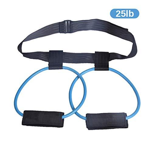 Bandas para botín de fitness AMAZING1, bandas de ejercicio para piernas y glúteos, entrenamiento muscular, 2 niveles adaptables de resistencia, regalo de fitness