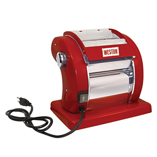 Weston Electric Pasta Machine, Red (01-0601-W)