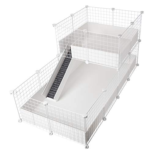 CagesCubes - Jaula CyC Deluxe (Base 2X4 + Loft 2x2 - Panel...
